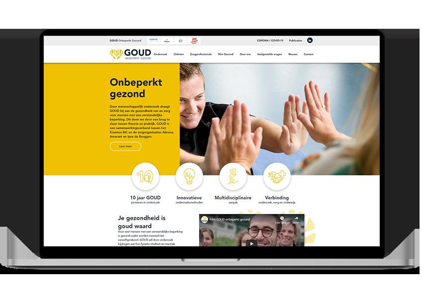 GOUD onbeperkt gezond website