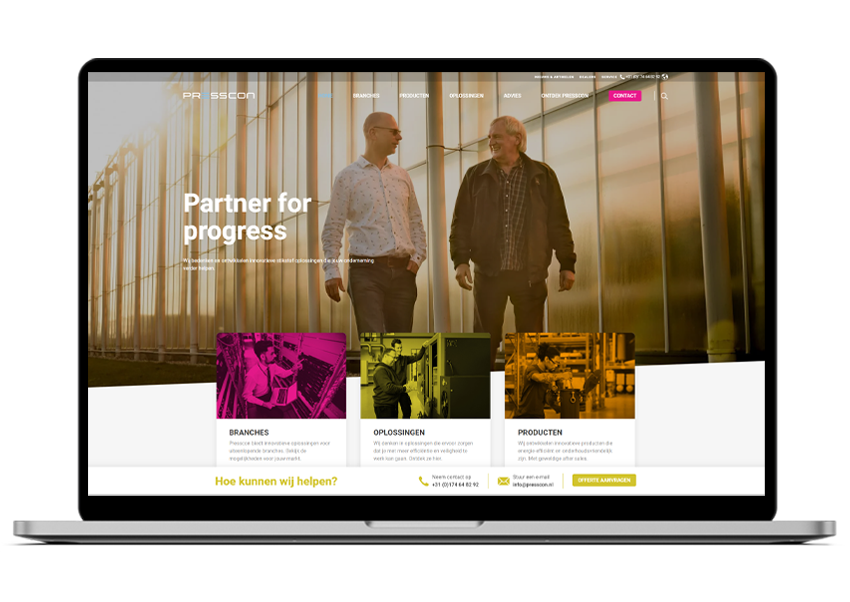 Presscon website